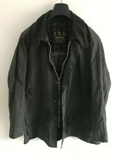 Mens Barbour Beaufort wax jacket Blue coat 44in size Large / Extra Large L/XL #2