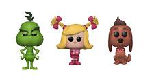 Funko POP Figures. The Grinch 2018 Movie. Bundle of 3!