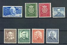 GERMANY BUND MI# 116 , 121/22 , 143/46 , 150  * MH  MOST VF