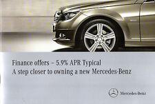 Mercedes-Benz Finance Offers July-Sep 2010 UK Market Brochure A B CLC C SLK E ML