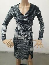 Vestito DESIGUAL Donna Dress Woman Veste Femme Taglia Size S Maglia Lunga 8664