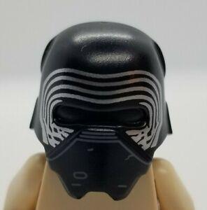NEW LEGO | Minifigure Headgear - Black Star Wars Helmet - Kylo Ren