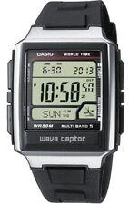 Casio WV-59E Orologio Waveceptor Radiocontrollato Illuminator Sveglia, 50m