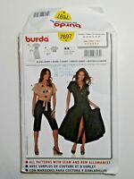 Burda #7697  Dress - Shirt Sewing Pattern  Size 10-12-14-18-20 Uncut OOP