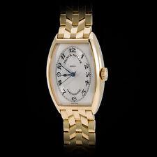 Franck Muller 18K YG 5850 Chronometro Chronometer YG Bracelet Stunning Guilloche