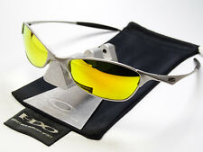 OAKLEY WIRETAP SILVER FIRE SONNENBRILLE SQUARE WIRE WHISKER JULIET WHY 8 TAILPIN