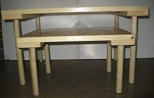 Set of 2 Montessori Custom Made Nesting Floor Tables