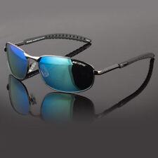 New Men Polarized Sunglasses Sport Metal Frame Mirror Driving Eyewear Glasses