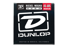 Dunlop Nickel Plated Steel Electric Bass Strings - Medium / Light