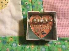 Stephan Heartwarming Baby Gift First Tooth Curl Box New in Box