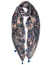 Sciarpe, foulard e scialli da donna floreale raso