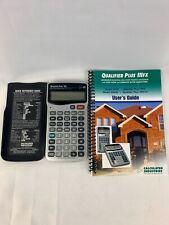 Calculated Industries Real Estate Finance Calculator Qualifier Plus IIIx 3415