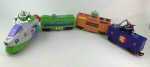 Toy Story Buzz Friends Train Motorized Light up Cars Zurg Alien Planet Toys 2008
