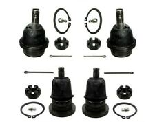 For Set of Front Upper & Lower Ball Joints Kit Moog for Toyota Tacoma 2005-2015