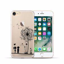 Protección, funda protectora iPhone 7 8 Soft Cover Case, bumper, protección bolsa motivo slim TPU diente de león
