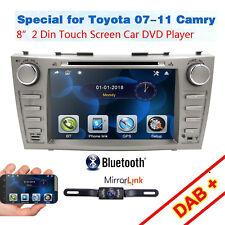 "HIZPO Car DVD GPS 8""Player Radio fit Toyota Camry 2007 2008 09 2010 2011+Camera"