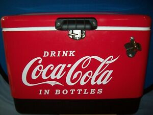 Coca Cola Stainless Steel 54qt Cooler ccic-54