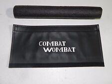 Hodaka Handle Bar Pad Combat Wombat Made from Marine grade vinly green  logo