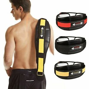 Weightlifting Belt Back Lumbar Support For Squats Deadlifts Crossfit Training