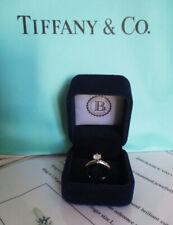 AUTHENTICATED  Tiffany & Co. Platinum Diamond Ring