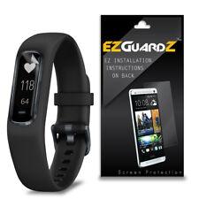 1X Ezguardz Lcd Screen Protector Shield Hd 1X For Garmin Vivosmart 4