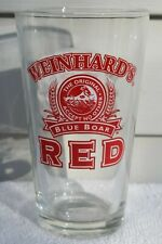New listing Vintage Weinhard's Red Blue Boar Year Of The Boar 1995 Pint Beer Bar Glass