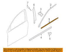 VOLVO OEM 07-16 S80-Door Window Sweep-Belt Molding Weatherstrip Right 31349453