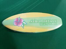 Expandable Aeropostale Beach Towel Brand New Multi Shades of Blue Green Yellow