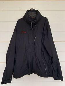 Mammut Dry Tech Men's Black Hooded Jacket Size L