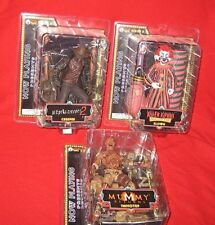 SOTA 2005 NOW PLAYING Series 2 JEEPERS CREEPERS IMHOTEP & KLOWN 3 Figure Set NEW
