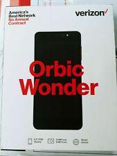 New Verizon Prepaid Orbic Wonder 13 Mp 5.5 Fhd 1.4 Ghz Smartphone