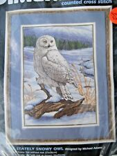 New Dimensions Counted Cross Stitch #3861 THE STATELY SNOWY OWL Michael Adams