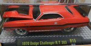 1970 SCAT PACK DODGE BOYS CHALLENGER RED R/T 383 MOPAR 70 DRAG RACE CAR 16-01 M2