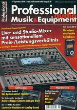 Professional Audio Musik & Equipment 2010/09