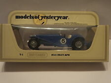 MATCHBOX Y-3 1934 RILEY MPH - BLUE No.6 - MINT