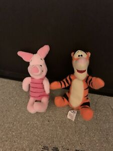 Tiger & Piglet Teddies imagine 8