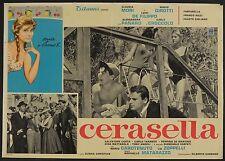 FOTOBUSTA 7, CERASELLA, MARIO GIROTTI-TERENCE HILL, A.PANARO, C.MORI, MATARAZZO