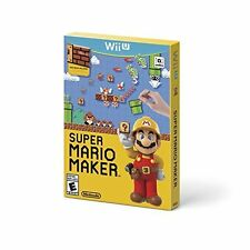 Super Mario Maker Nintendo Wii U With Case Very Good 7Z