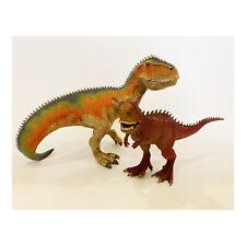 Schleich Dinosaur Lot Movable Jaw Giganotosaurus Carnotaurus T-Rex D-73527 14527