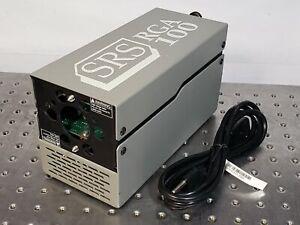 Stanford Research Systems SRS RGA100 Residual Gas Analyzer w/ AC Power Supply