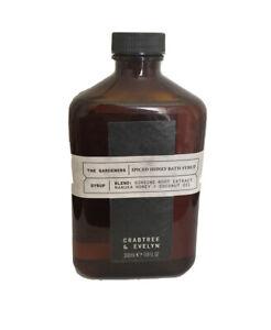 Crabtree & Evelyn The Gardeners Spiced Honey Bath Syrup 11.8 oz