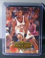 1995-96 Charlie Ward Fleer Ultra #232 Basketball Card