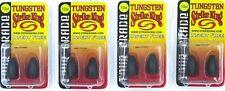 (4) Packs Strike King Tungsten Bullet Weights Tour Grade Insert Free 1/2 Oz MGP