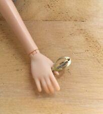 1966 HAIR FAIR Barbie Oval Brass Barrette #4042***Original Owner***