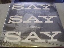 "Paul McCartney & Michael Jackson - Say Say Say - 12"" Vinyl /// Neu & OVP"