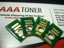 4 x Toner Chip for Ricoh Aficio SP C830DN, C831DN (821117 ~ 821120) Refill