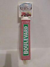 "Boulevard 80 Acre Hoppy Wheat 11"" Beer Keg Tap Handle Marker Knob Man Cave"
