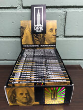 Empire Rolling Papers (10 PACKS x 10) $100 Dollar Bill Plus Filter Tips - SEALED