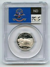 2006 S 25C Silver North Dakota Quarter PCGS PR69DCAM
