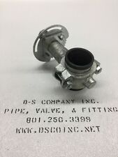"""Grooved End Butterfly Valve 2-1/2"""" IPS VICTAULIC"""
